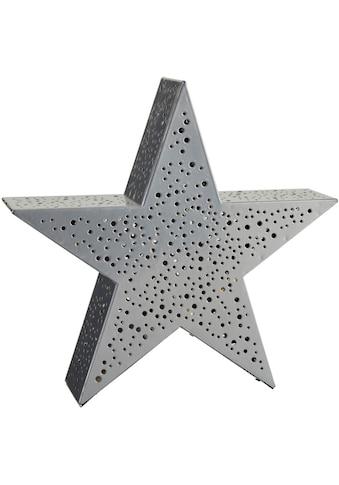 LED Stern »Silver Star«, Warmweiß, Höhe ca. 30 cm, mit 20 warmweißen LEDs,... kaufen