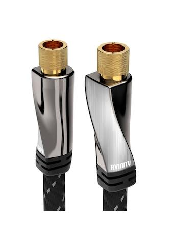 AVINITY SAT-Anschlusskabel, Gewebe, vergoldet, 120 dB, 3 m kaufen