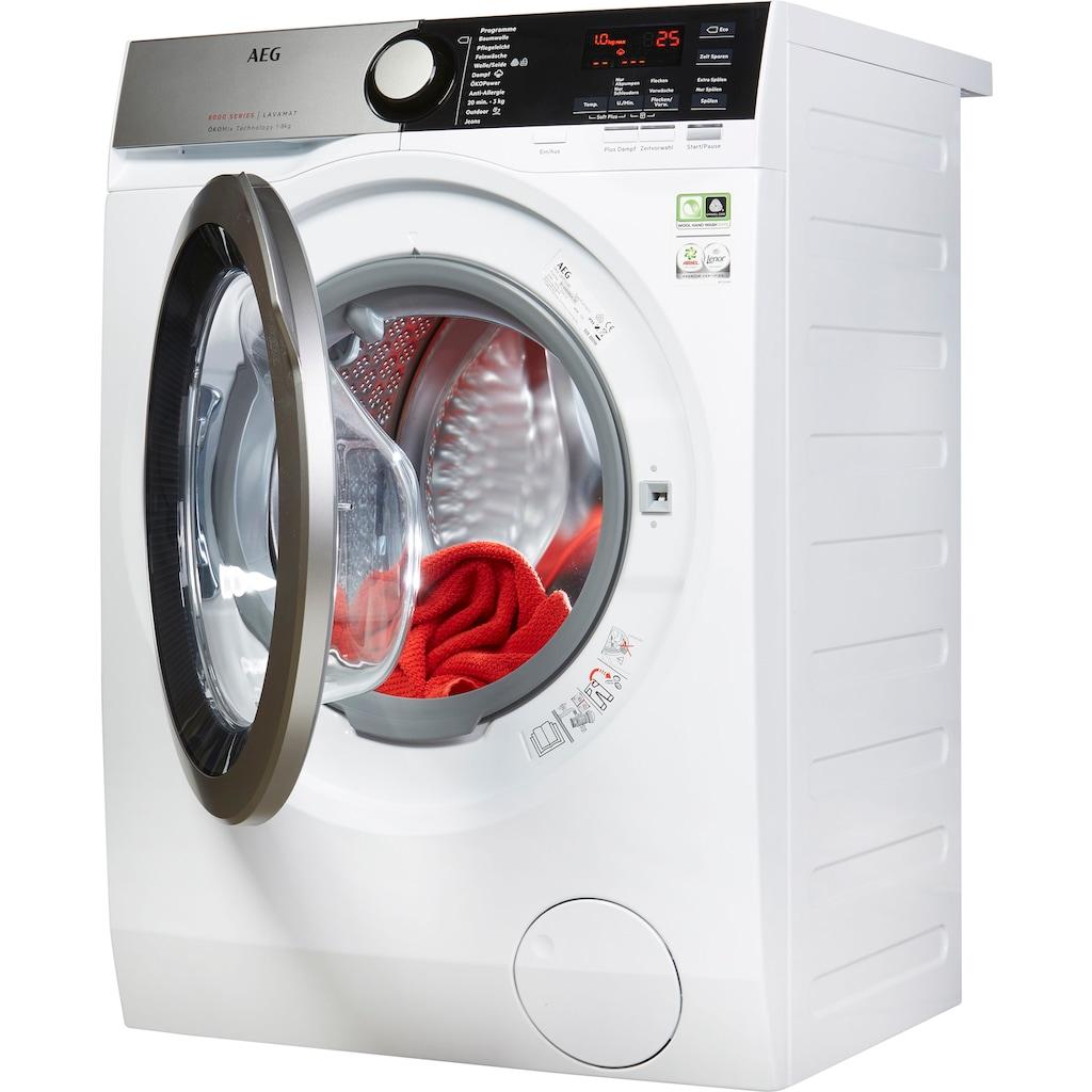 AEG Waschmaschine »LAVAMAT L8FE74485«, Serie 8000 LAVAMAT, L8FE74485, 8 kg, 1400 U/min, ÖKOMix - Faserschutz