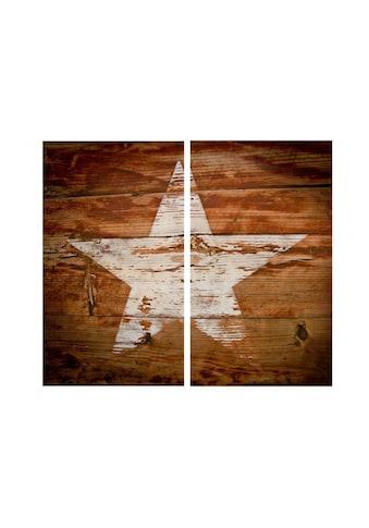 Wall-Art Herd-Abdeckplatte »Herdabdeckplatte Vintage Star«, (1 tlg.) kaufen