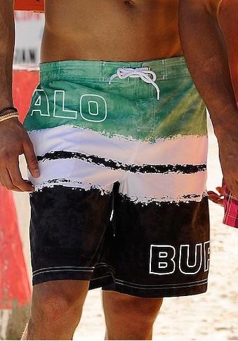 Buffalo Badeshorts, mit Logoprint kaufen