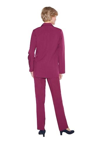 Classic Basics Hose mit Bügelfalten vorne kaufen