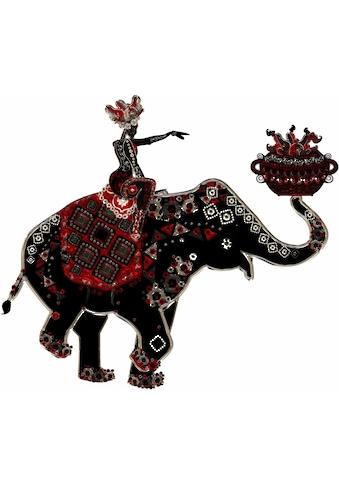 Wall-Art Wandtattoo »Metallic Elephant Ride« kaufen