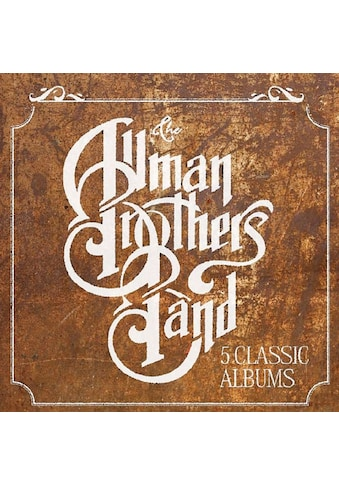 Musik-CD »5 Classic Albums / ALLMAN BROTHERS BAND,THE« kaufen