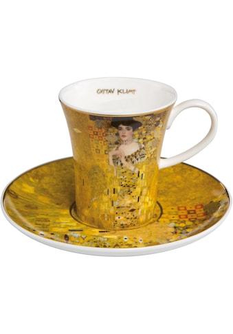 Goebel Espressotasse »Adele Bloch Bauer«, von Gustav Klimt, goldfarben kaufen