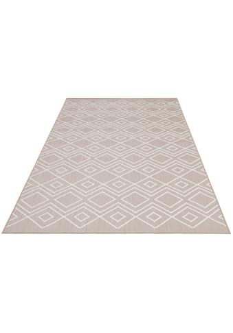 OTTO products Teppich »Manni«, rechteckig, 5 mm Höhe, In-und Outdoor geeignet, Wohnzimmer kaufen