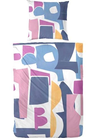Primera Bettwäsche »puzzle«, mit strukturierten und kunstvoll angeordneten Formen kaufen