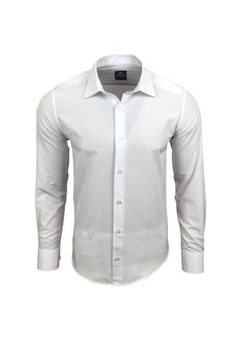 Rusty Neal Langarmhemd in einfarbigem Design kaufen