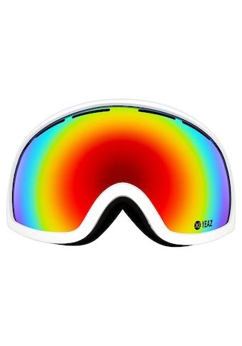 YEAZ Skibrille »PEAK«, weiß kaufen