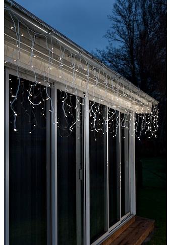 KONSTSMIDE LED Eisregen Lichtervorhang mit Lichtsensor und Timer kaufen
