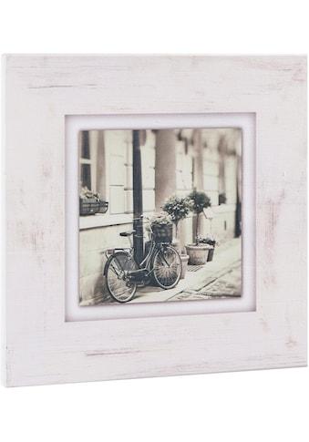 Home affaire Holzbild »Fahrrad an Hauswand«, 40/40 cm kaufen