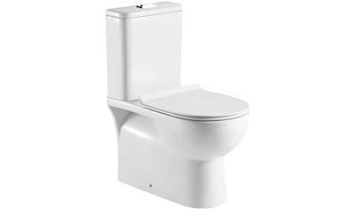 SANOTECHNIK Komplett - Set: WC - Garnitur »MONO «, inkl. WC - Sitz kaufen