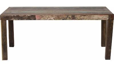 SIT Esstisch »Jupiter«, aus recyceltem Altholz, Shabby Chic, Vintage kaufen