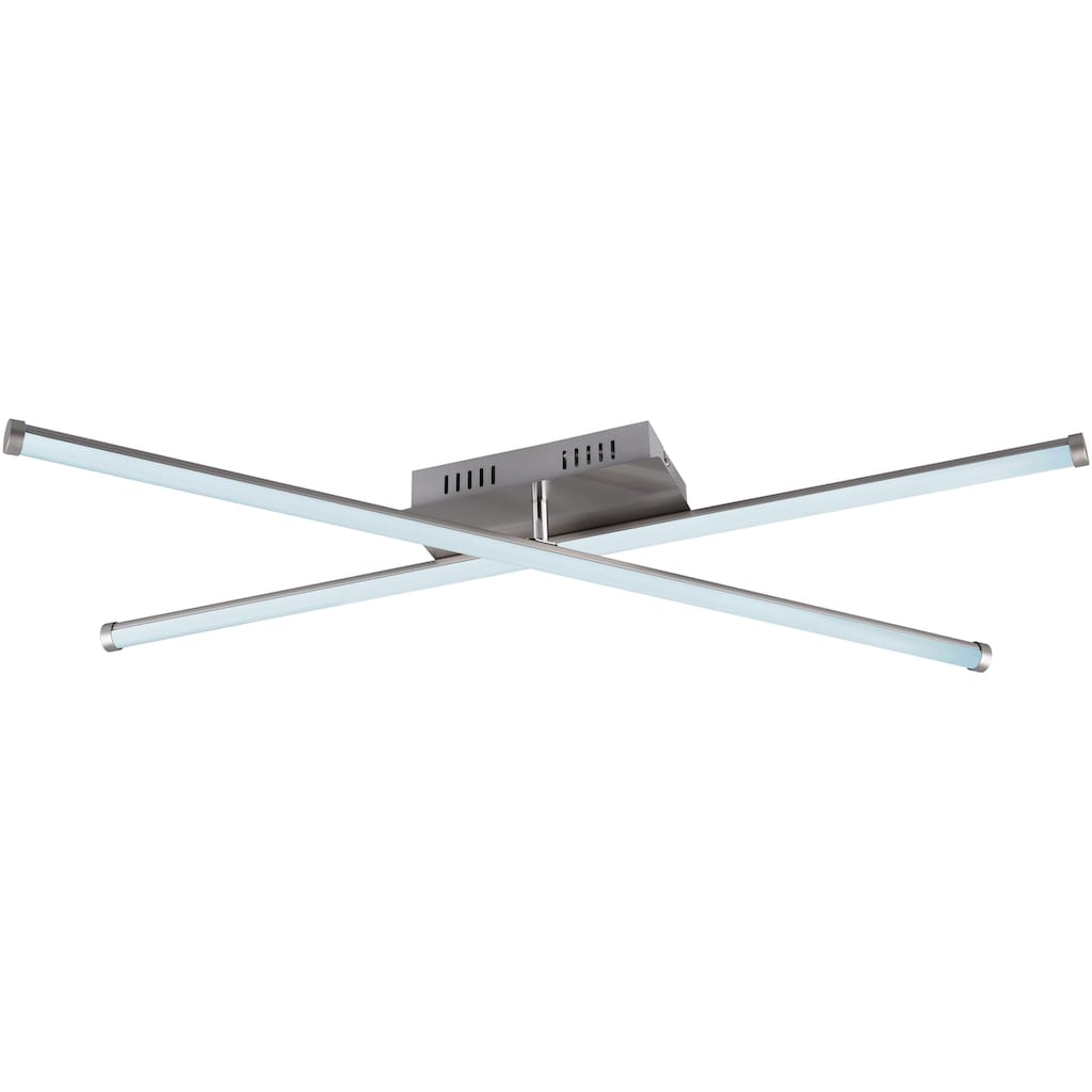 TRIO Leuchten LED Deckenleuchte »SMARAGD«, LED-Board, 1 St., Farbwechsler, LED Deckenlampe