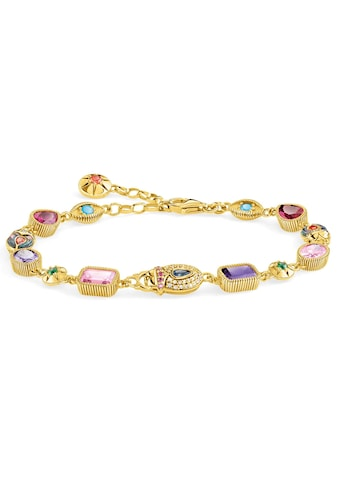 THOMAS SABO Armband »Große Glücksbringer gold, A1915-295-7-L19v«, mit Perlmutt, synth.... kaufen
