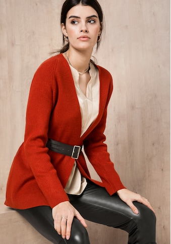 bianca Cardigan »DORIS«, in angesagter Trendfarbe mit Bindegürtel kaufen