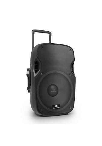 """Malone Mobiler Aktiv PA Lautsprecher 38cm (15"""") 450W Mikrofon Akku »PW 2915 BTR« kaufen"""