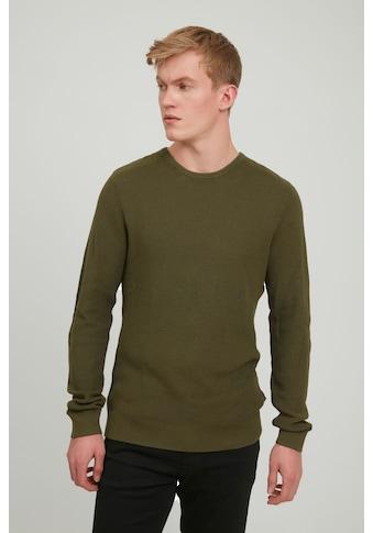 Blend Strickpullover »Pullover 20712654«, Strickpullover mit Rundhalsausschnitt kaufen