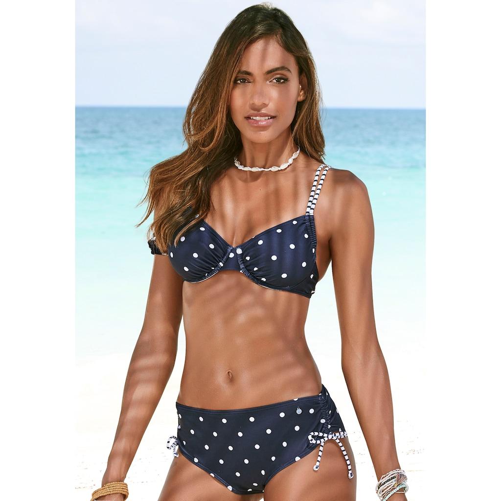 s.Oliver Bügel-Bikini-Top »Audrey«, im Punkte und Streifen Mix