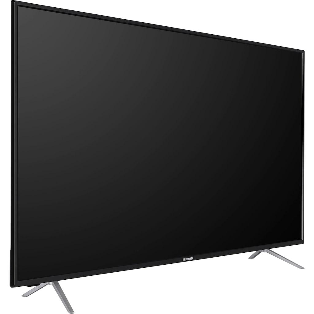 "Telefunken LED-Fernseher »D55V800M4CWH«, 139 cm/55 "", 4K Ultra HD, Smart-TV, 36 Monaten Herstellerlangzeitgarantie"