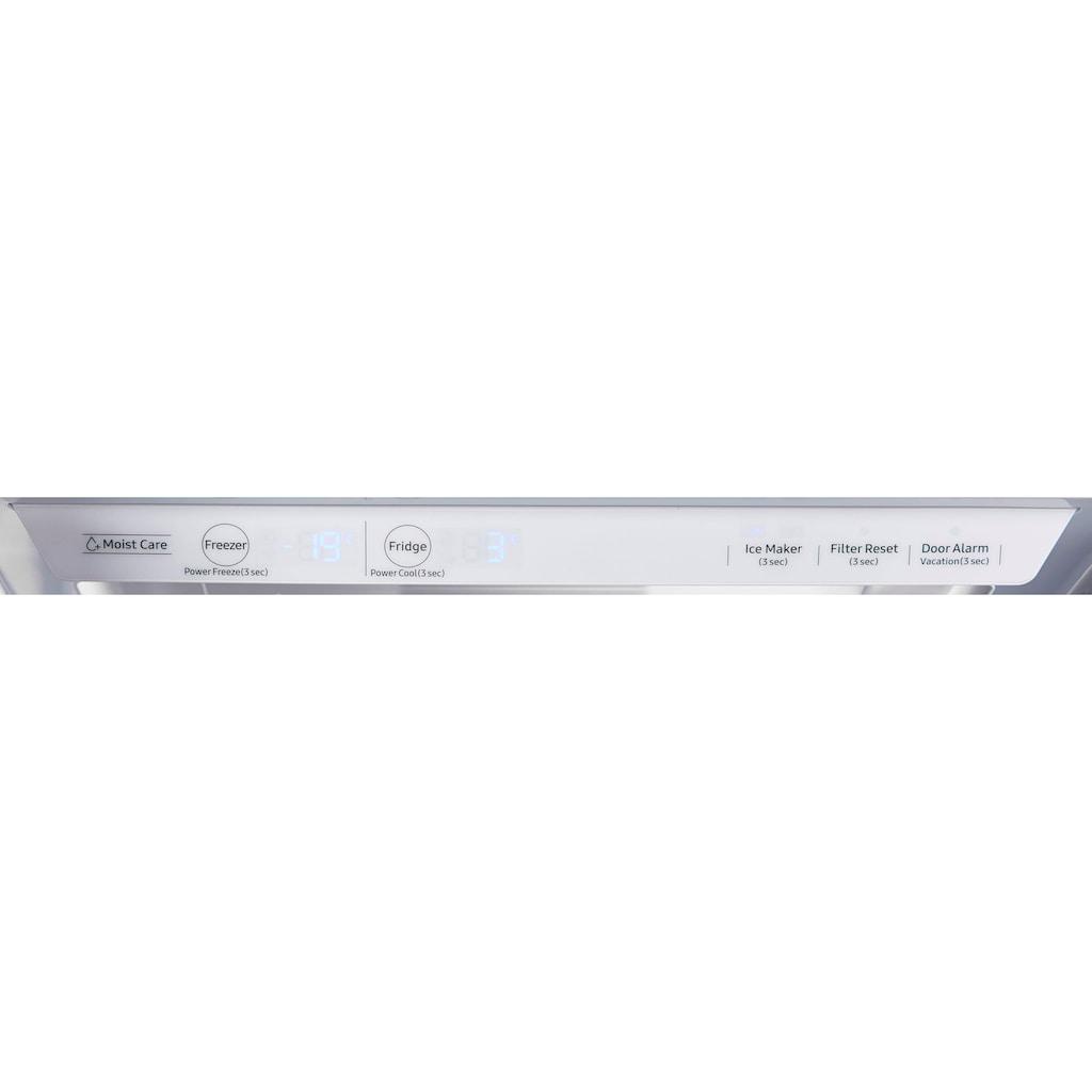 Samsung Side-by-Side »RS6JN8210S9/EG«, RS8000, RS6JN8210S9, 178 cm hoch, 91,2 cm breit, No Frost