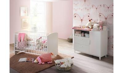 Babymöbel-Set »Nizza«, (Spar-Set, 2 tlg.), Bett + Wickelkommode kaufen