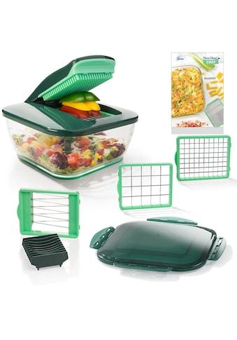 Genius Zerkleinerer »Nicer Dicer Chef«, 3300 ml Kunststoff-Auffangbehälter, 9-teilig kaufen