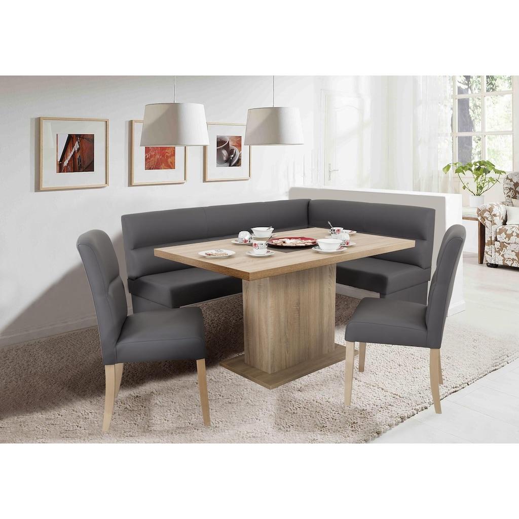 Home affaire Säulen-Esstisch, Breite 136 cm