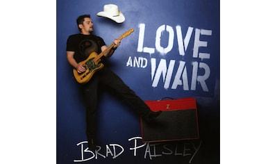Musik-CD »Love and War / Paisley,Brad« kaufen