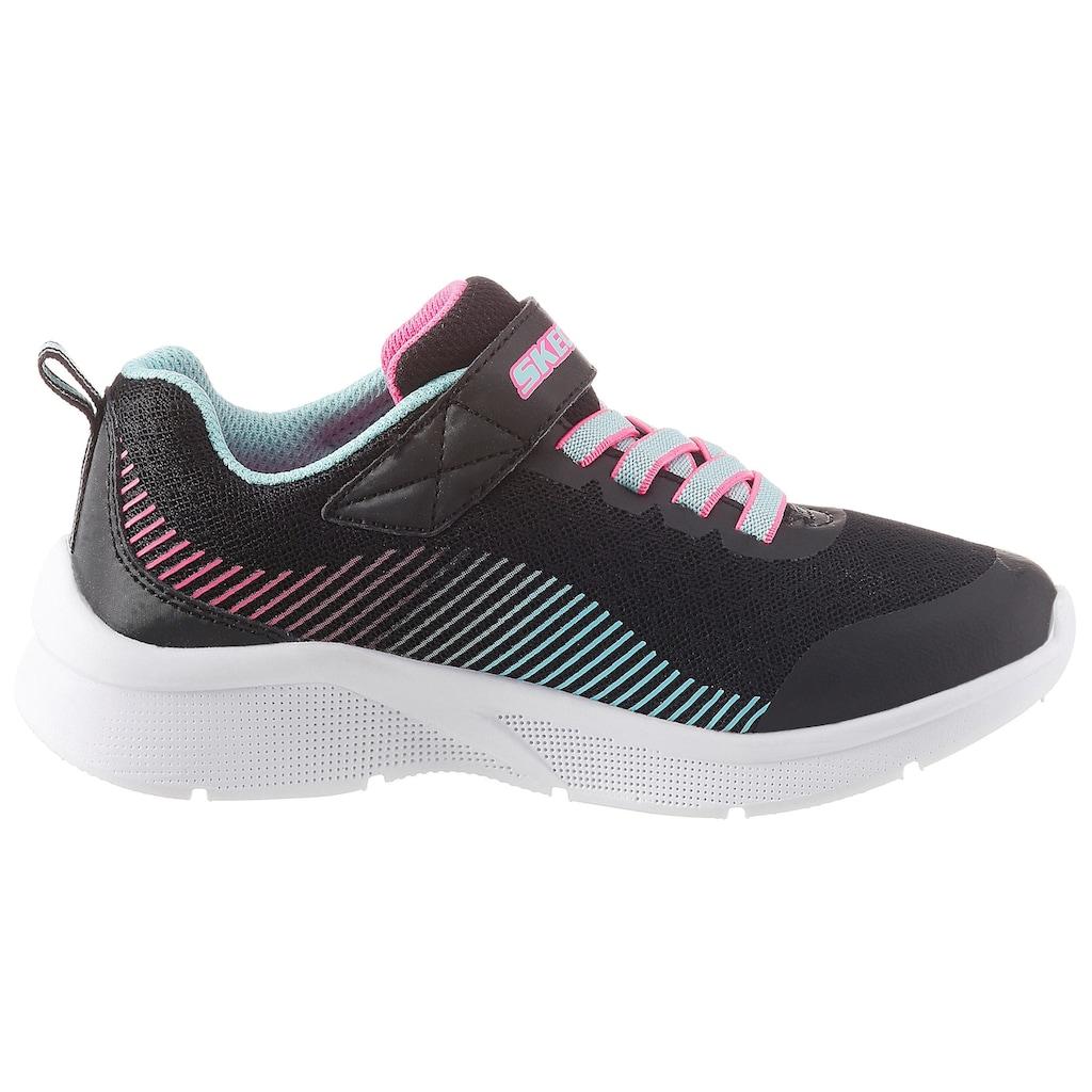 Skechers Kids Sneaker »Microspec«, mit Klettverschluss