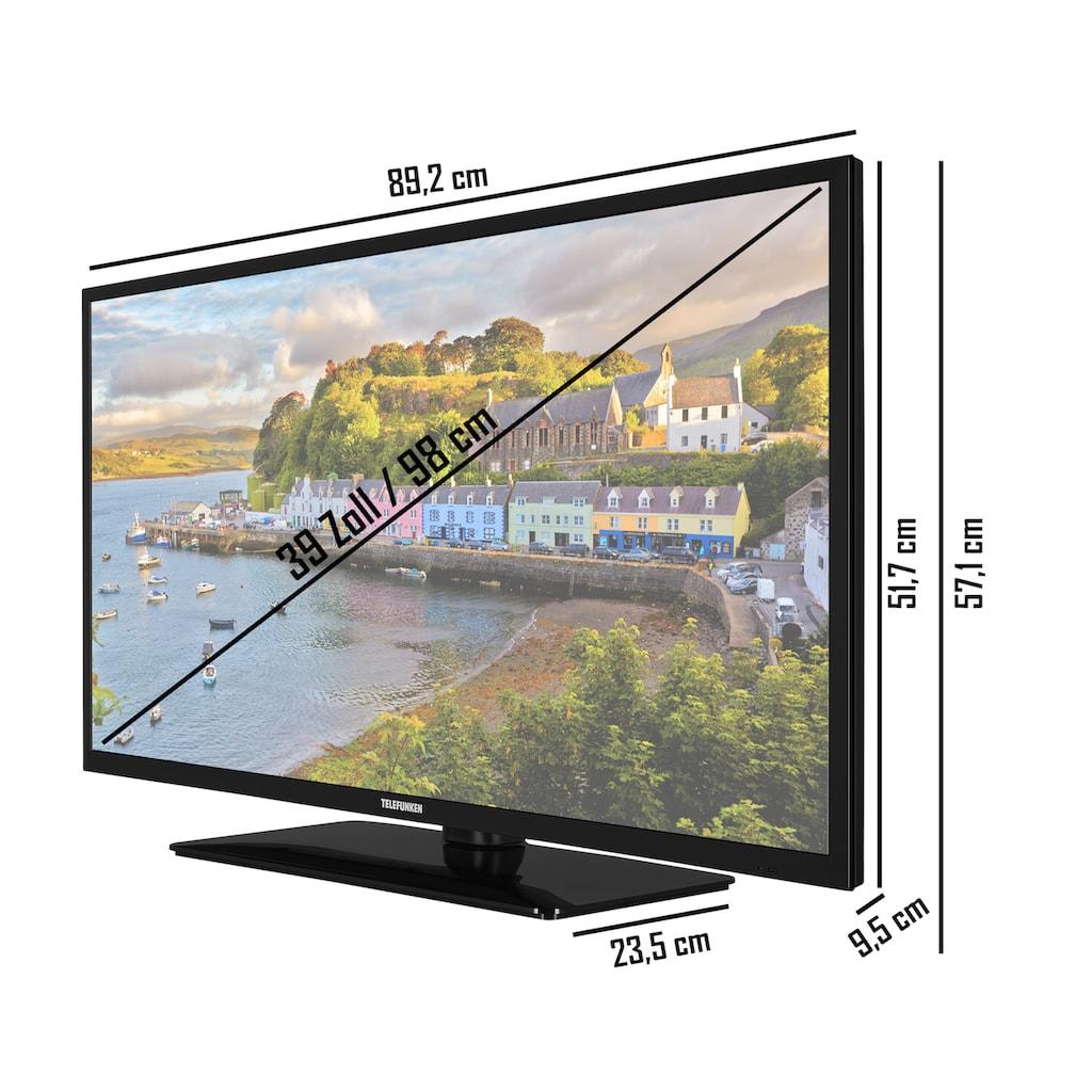 "Telefunken LED-Fernseher »D39H500X2CW«, 98 cm/39 "", HD-ready, Google TV-Android TV"