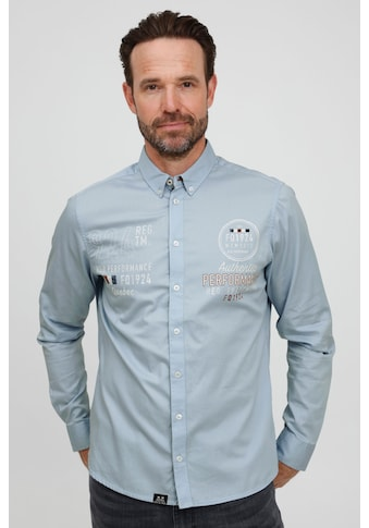 FQ1924 Langarmhemd »Hallvard 21900071ME«, Modernes Hemd mit dezentem Print kaufen