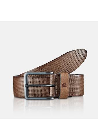 LERROS Ledergürtel, mit Minimal-Loch-Prägung, sportiv-elegant kaufen