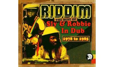 Musik-CD »Riddim: The Best Of Sly & Robb / Sly & Robbie« kaufen