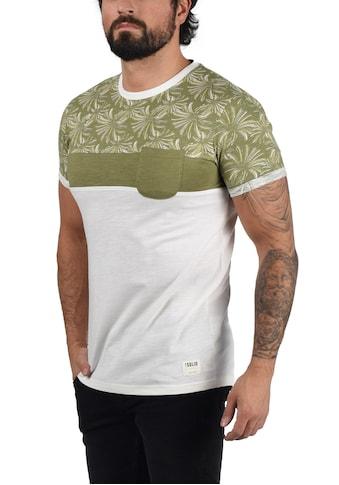 Solid Rundhalsshirt »Florian«, Kurzarmshirt mit Bustttasche kaufen