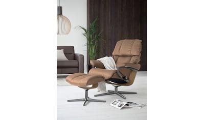 Stressless® Relaxsessel »Reno«, mit Cross Base, Größe S, M & L, Gestell Eiche kaufen