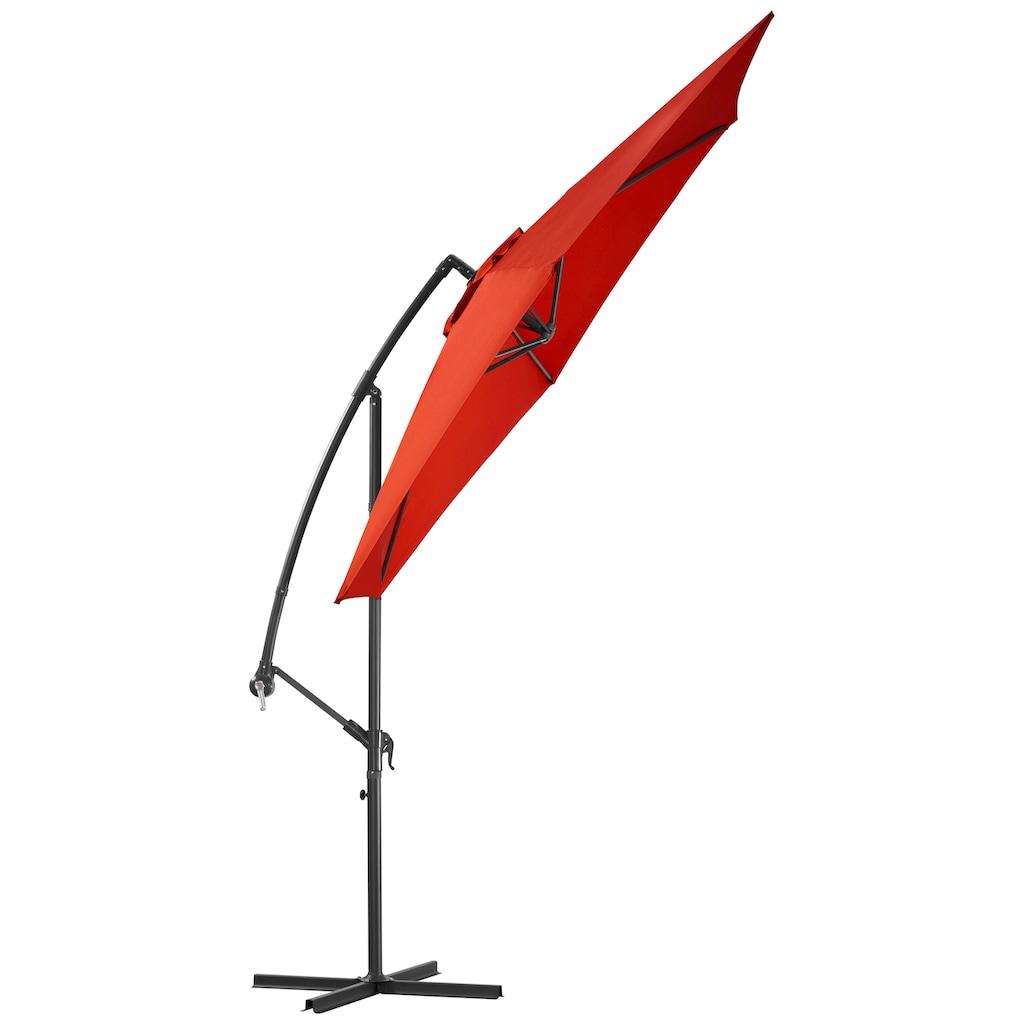 garten gut Ampelschirm »Sunshine«, abknickbar, mit Schirmstände