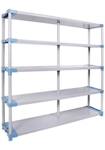 ONDIS24 Steckregal »Maxim UP 170«, 5 Fachböden, Kunststoff kaufen