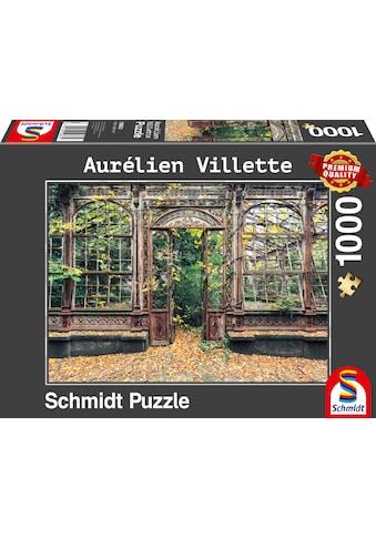 """Schmidt Spiele Puzzle """"Bewachsene Bogenfenster"""" kaufen"""