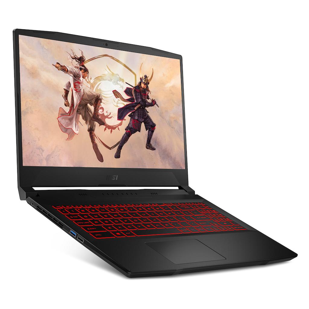 "MSI Gaming-Notebook »Katana GF66 11UC-228«, (39,6 cm/15,6 "" Intel Core i7 GeForce RTX™ 3050\r\n 512 GB SSD), Kostenloses Upgrade auf Windows 11, sobald verfügbar"