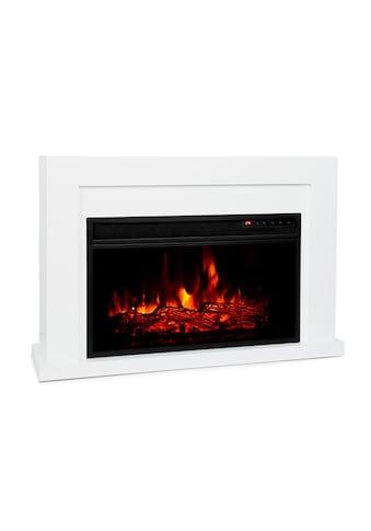 Klarstein Elektrischer Kamin 1000/2000W LED 10 - 30 °C Wochentimer »Blanca« kaufen