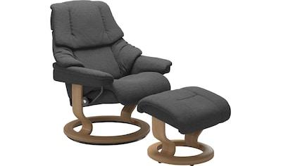 Stressless® Relaxsessel »Reno«, mit Hocker, mit Classic Base, Größe S, M & L, Gestell... kaufen