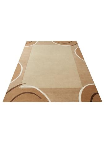 Theko Exklusiv Wollteppich »Bellary«, rechteckig, 13 mm Höhe, reine Wolle, mit... kaufen