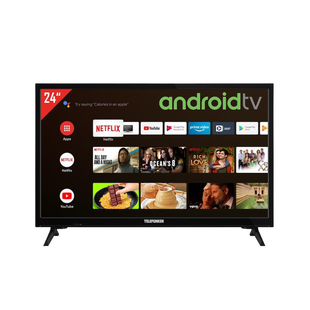 "Telefunken LED-Fernseher »XH24AJ600V«, 60 cm/24 "", HD-ready, Google TV-Android TV"