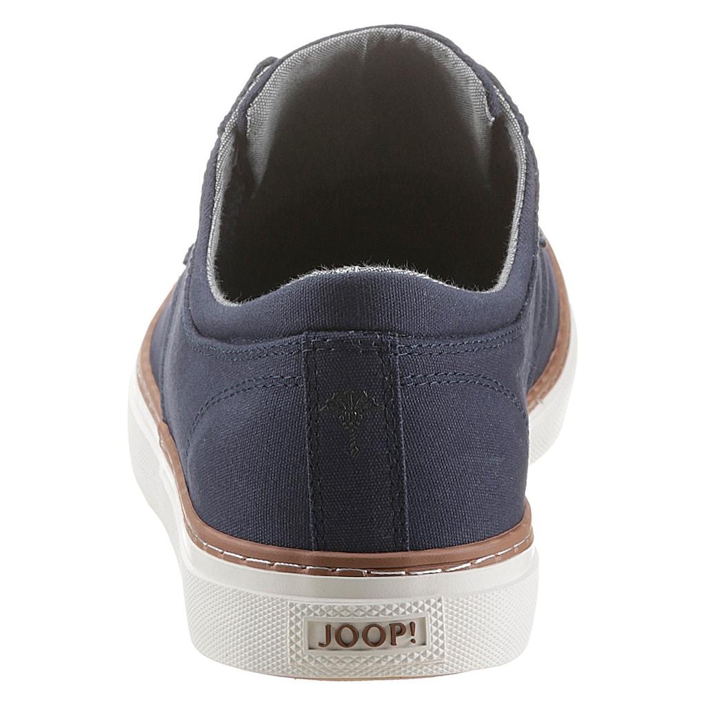 Joop! Sneaker, mit weißer Laufsohle