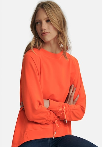 Looxent Sweatshirt »cotton«, mit Raffungen am Arm kaufen