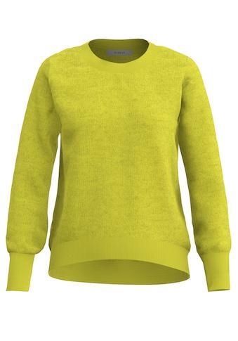 bianca Longpullover »REMIS«, in aktueller Trendfarbe mit breitem Bund kaufen