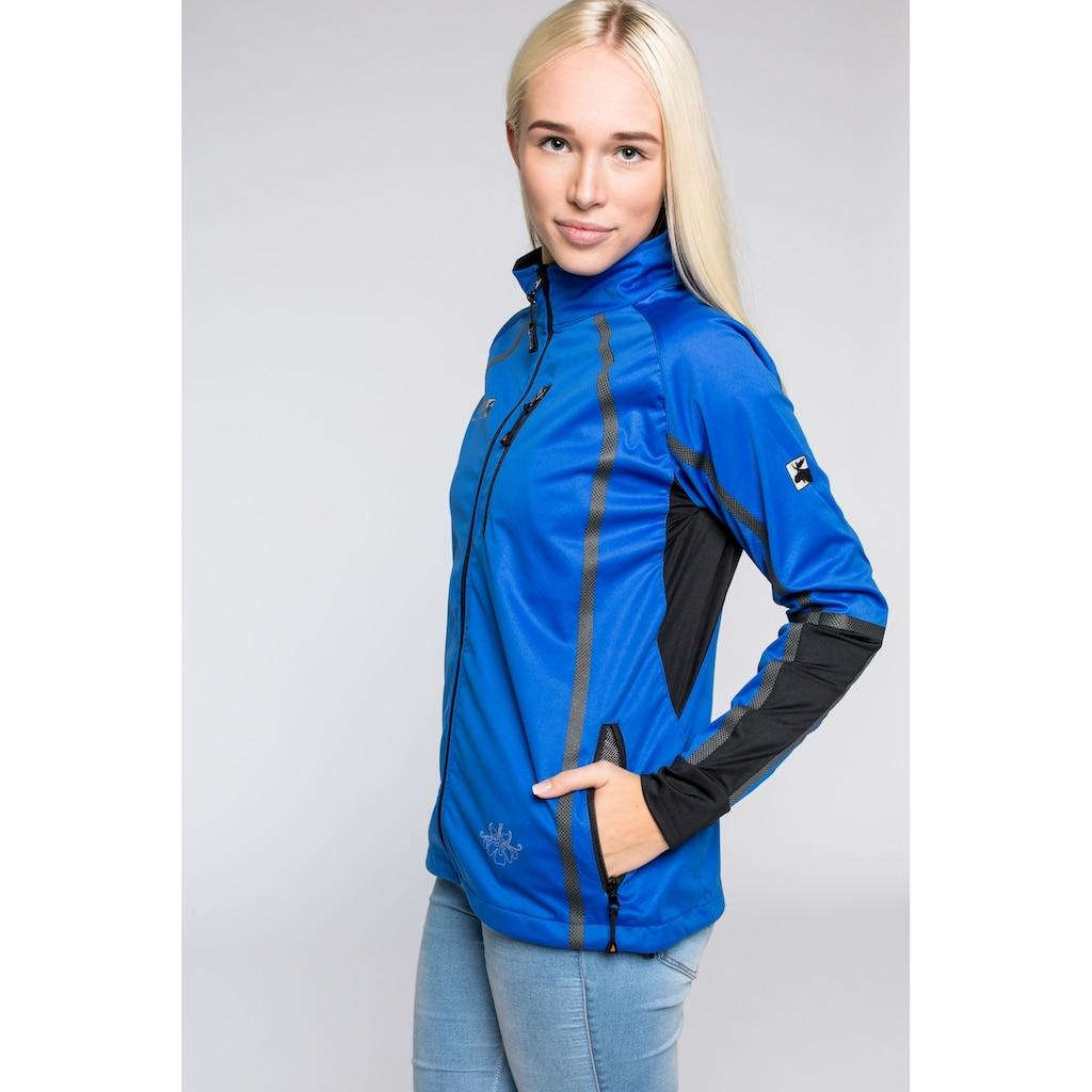 DEPROC Active Softshelljacke »THORSBY Women Midlayer«, auch in Großen Größen erhältlich