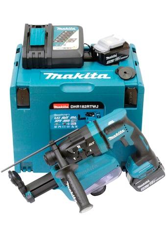 Makita Akku-Kombibohrhammer »DHR182RTWJ«, (Set), 18 V, SDS+, inkl. 2 Akkus kaufen