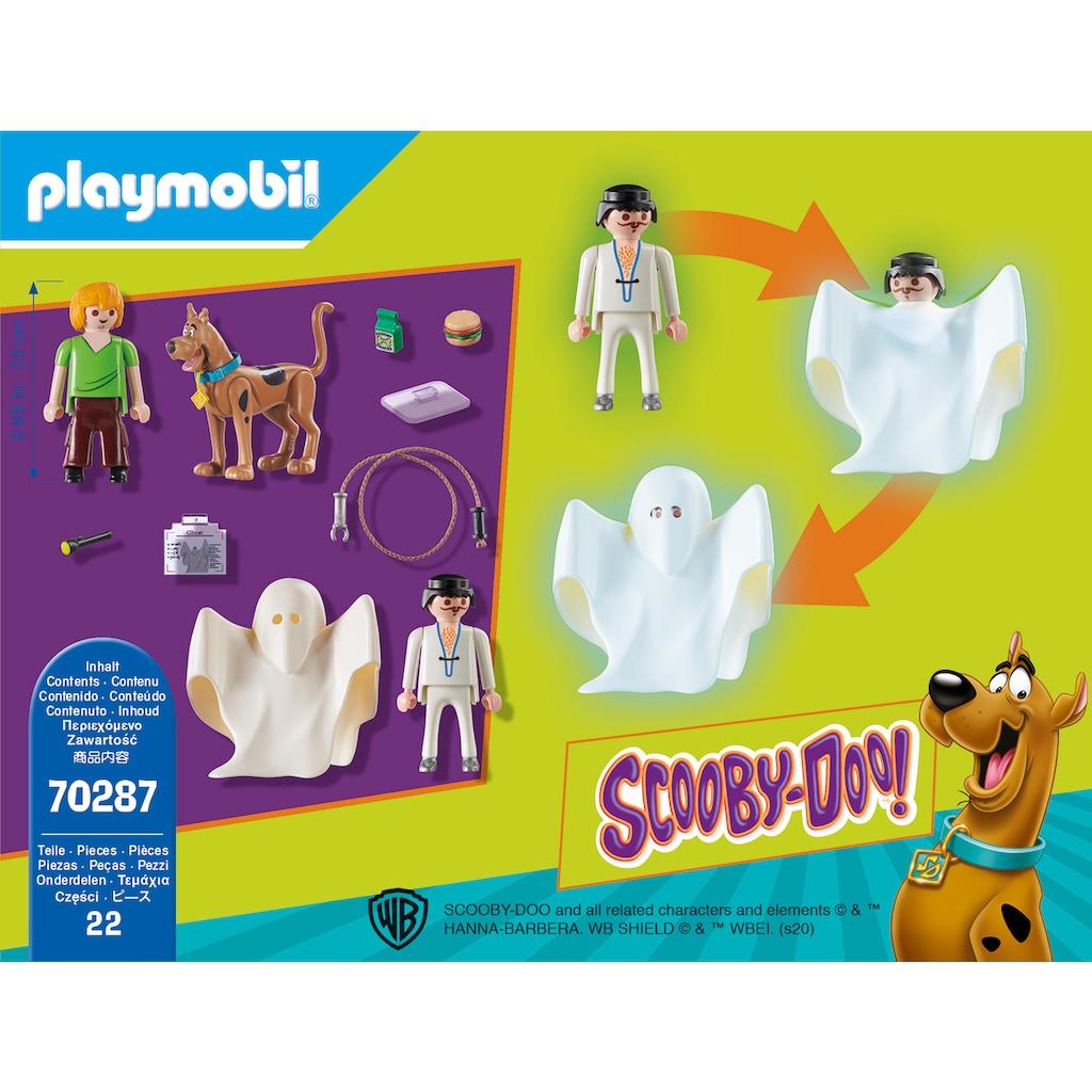 Playmobil® Konstruktions-Spielset »SCOOBY-DOO! Scooby & Shaggy mit Geist (70287), SCOOBY-DOO!«, Made in Europe